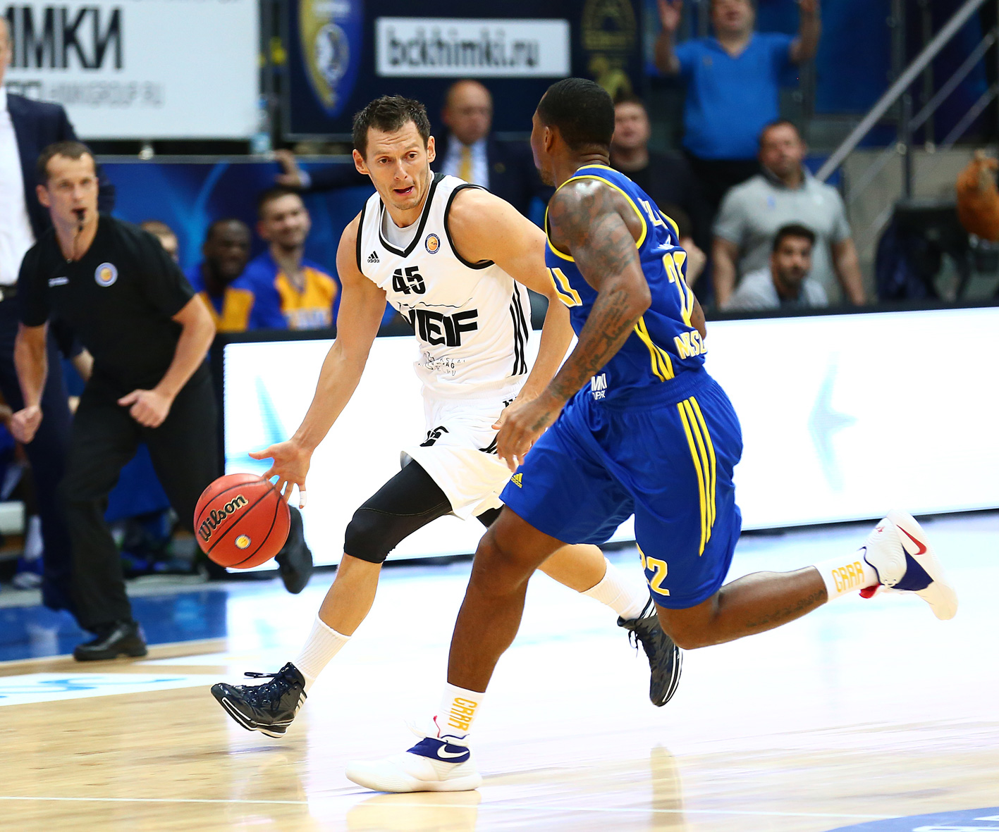 VEF Stuns Khimki On The Road