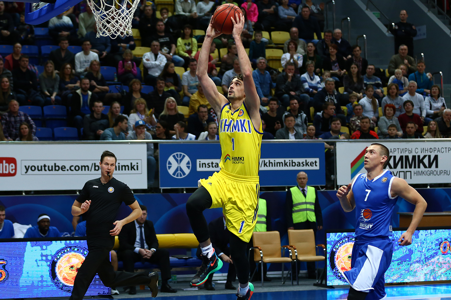 Shved Keeps Enisey In Check