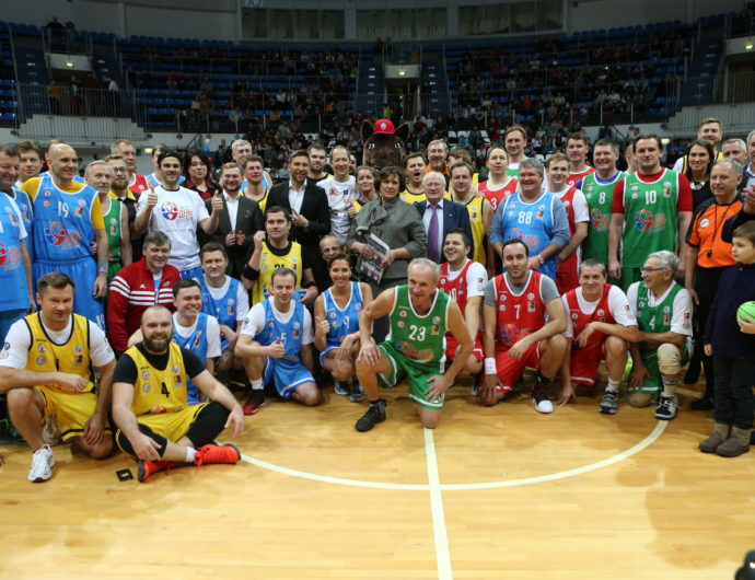 VTB United League Shows Up To Basketball Day