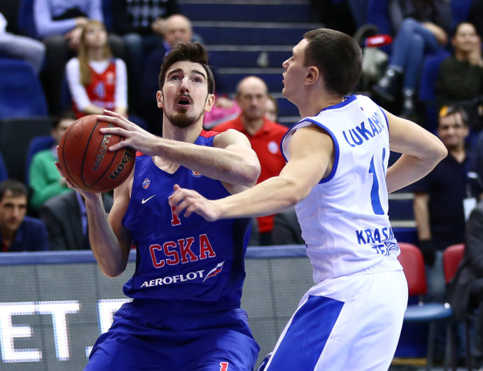 CSKA Quiets Enisey Offense In Moscow