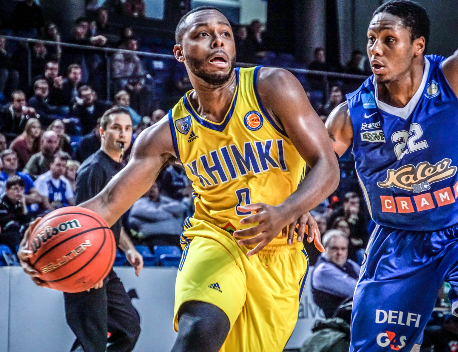 Khimki Survives In Tallinn Behind Pullen's 24