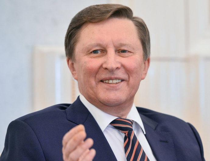 Sergey Ivanov Celebrates 64th Birthday