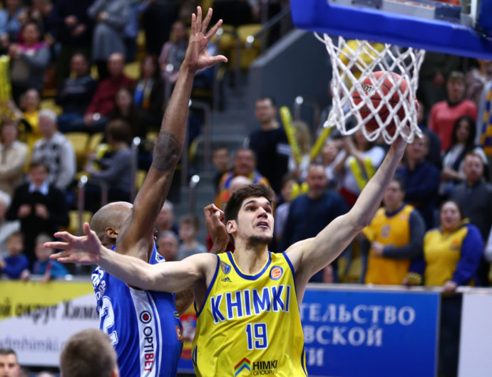 Todorovic Number One In VTB United League For Round 17
