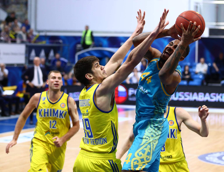 «Химки» – «Астана». Лучшие моменты