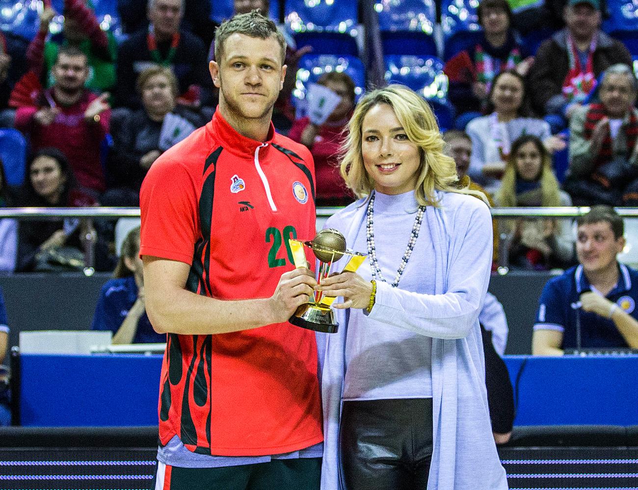 Andrei Zubkov Wins December MVP