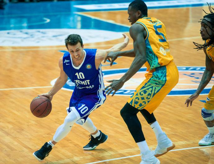 Zenit Catches UNICS In Astana