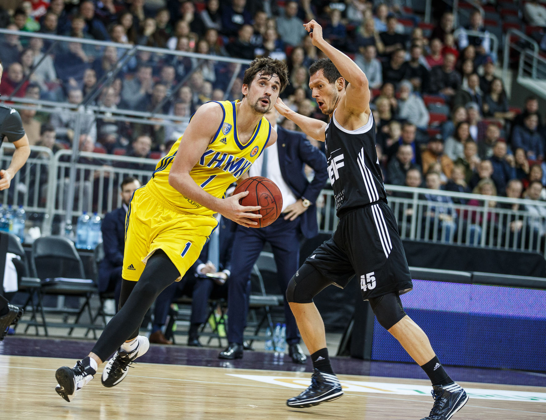 Khimki Strikes Back In Riga