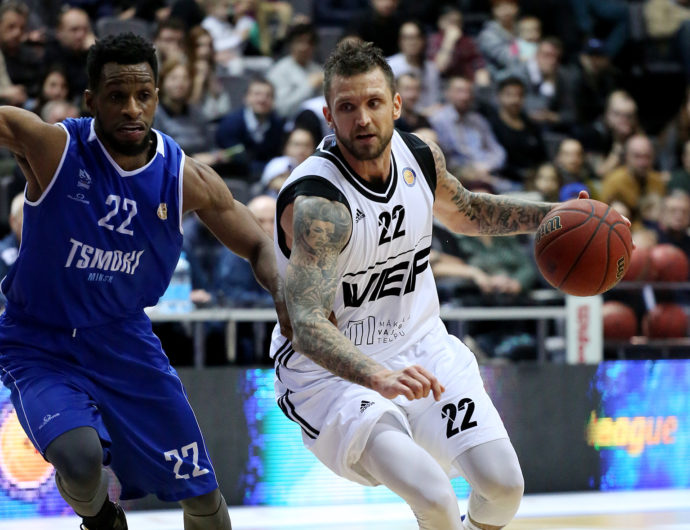 VEF Improves To 8-8 With Win In Minsk
