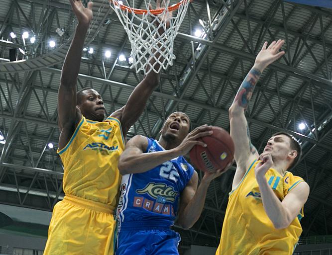 Big First Half Boosts Kalev In Astana