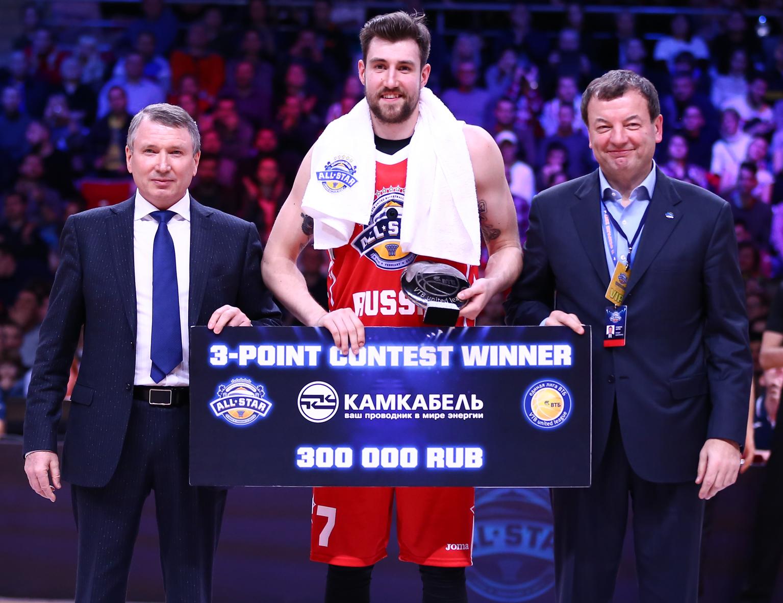 Сергей Карасев – победитель конкурса трехочковых