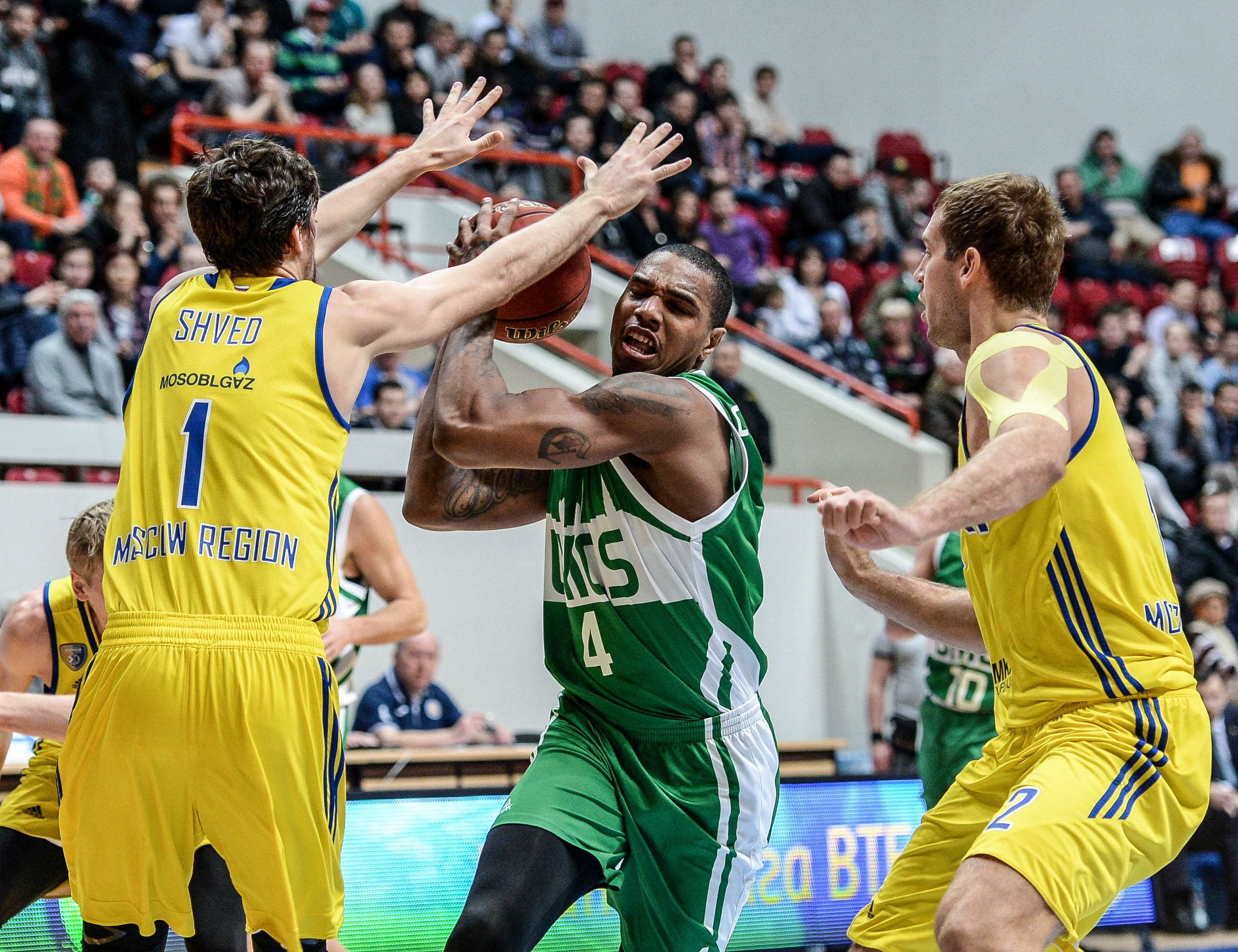 Watch: UNICS vs. Khimki Highlights