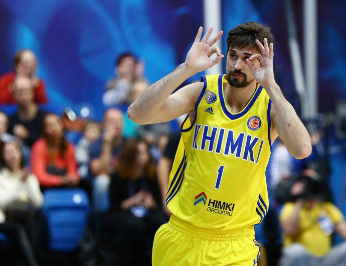 EuroCup MVP For 2016-17: Alexey Shved, Khimki Moscow Region