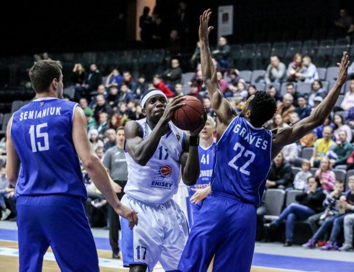 Enisey Earns 10th Win In Minsk