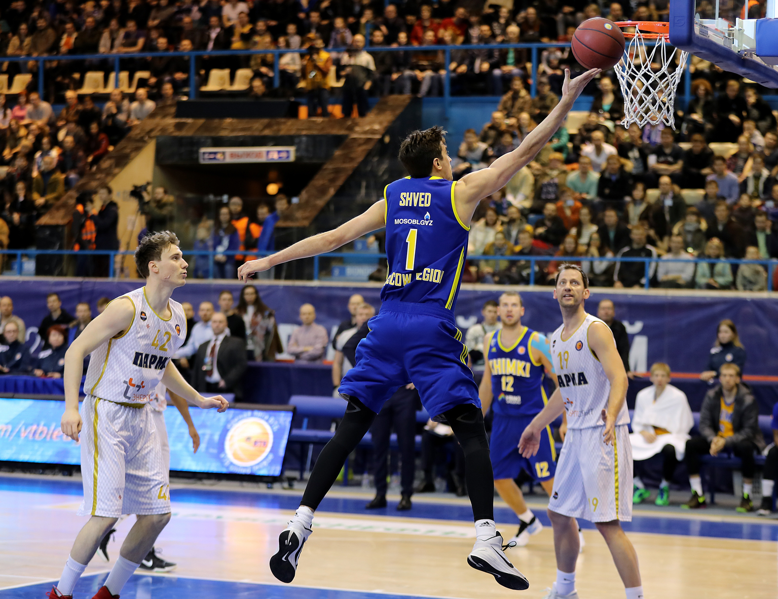 Shved Rescues Khimki In Perm