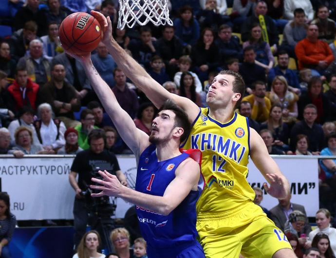 Watch: Khimki vs. CSKA Highlights