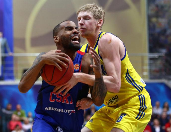 CSKA Flexes Muscles vs. Khimki