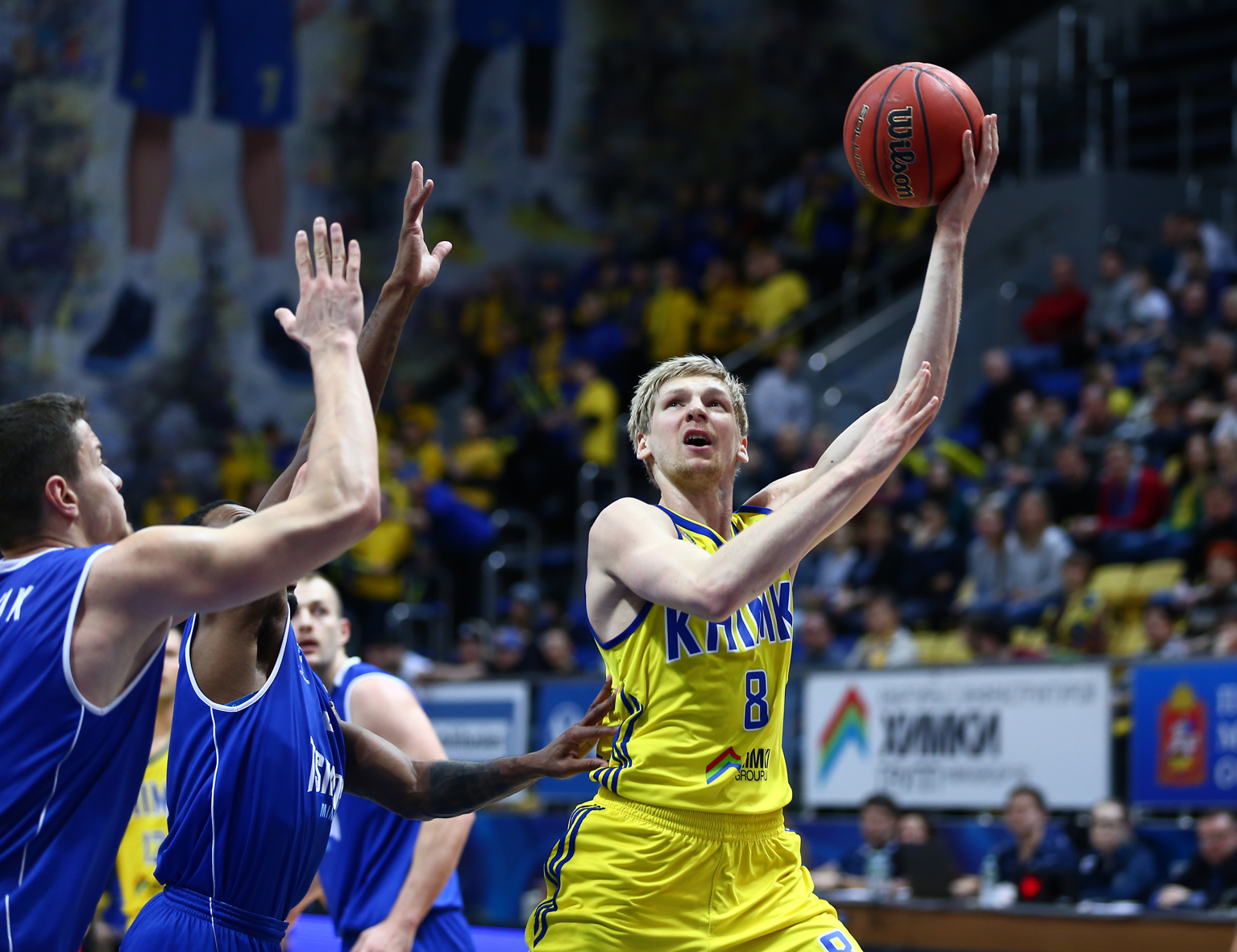 Khimki Remains In Top-Three
