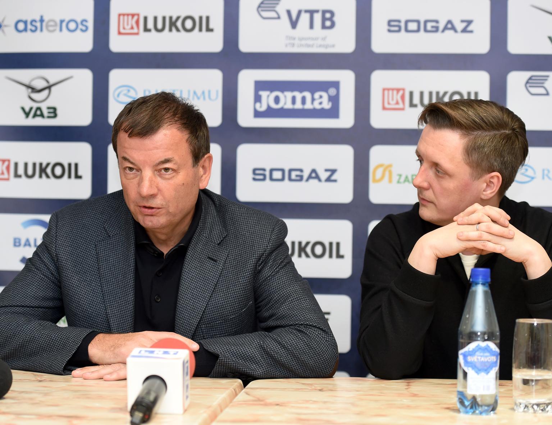 Сергей Кущенко принял участие в пресс-конференции в Риге