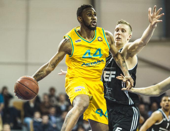 Watch: VEF vs. Astana Highlights