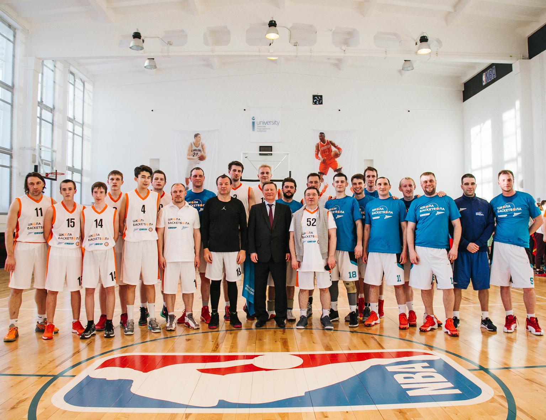 Сергей Иванов, Владимир Якушев, Дмитрий Конов и Сергей Кущенко приняли участие в «Школе баскетбола» в Тобольске