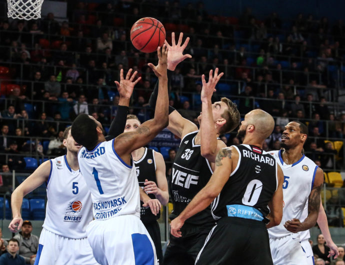 Watch: Enisey vs. VEF Highlights