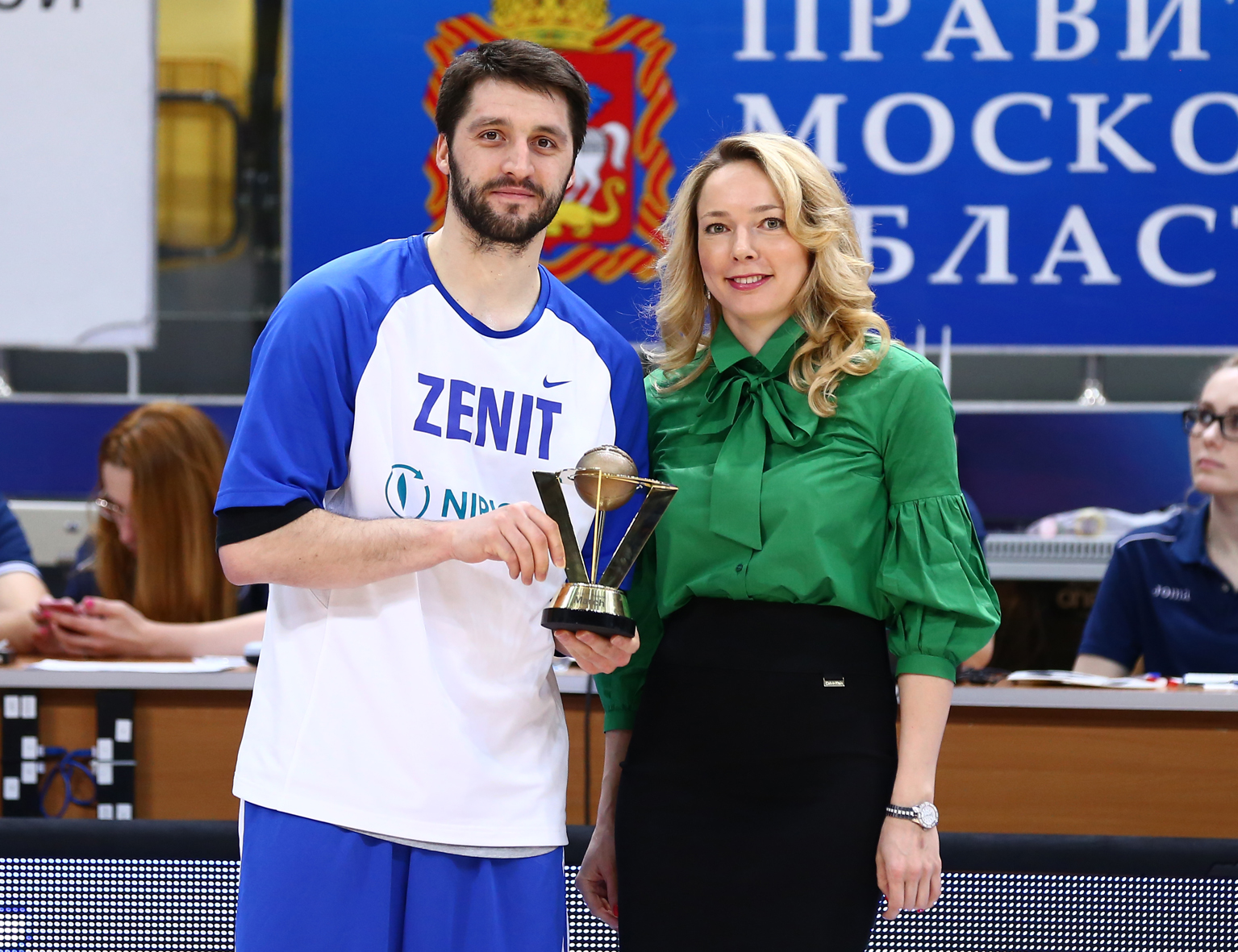 Stefan Markovic Wins March MVP