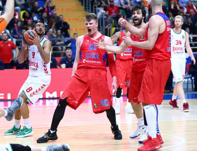 CSKA Advances To EuroLeague Final Four!