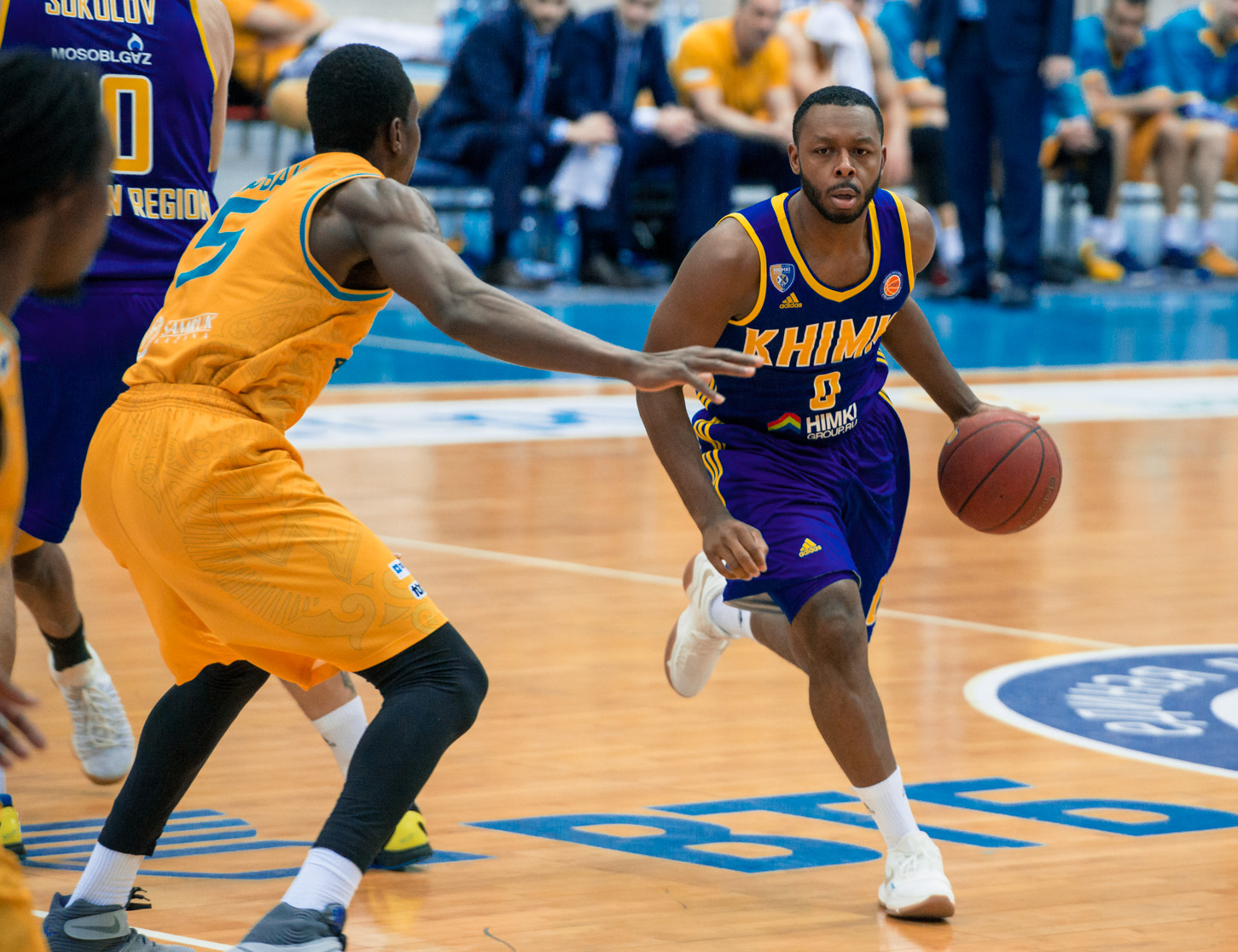 Khimki Survives Astana, Krubally