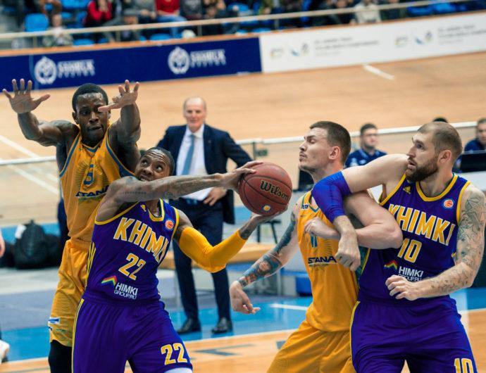 Watch: Astana vs. Khimki Highlights