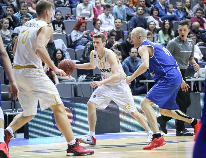 Watch: Tsmoki-Minsk vs. Parma Highlights