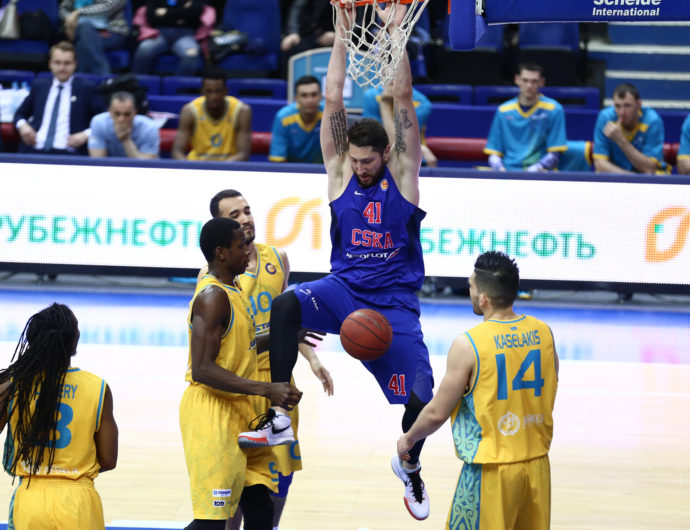 CSKA Uses Depth To Wear Down Astana