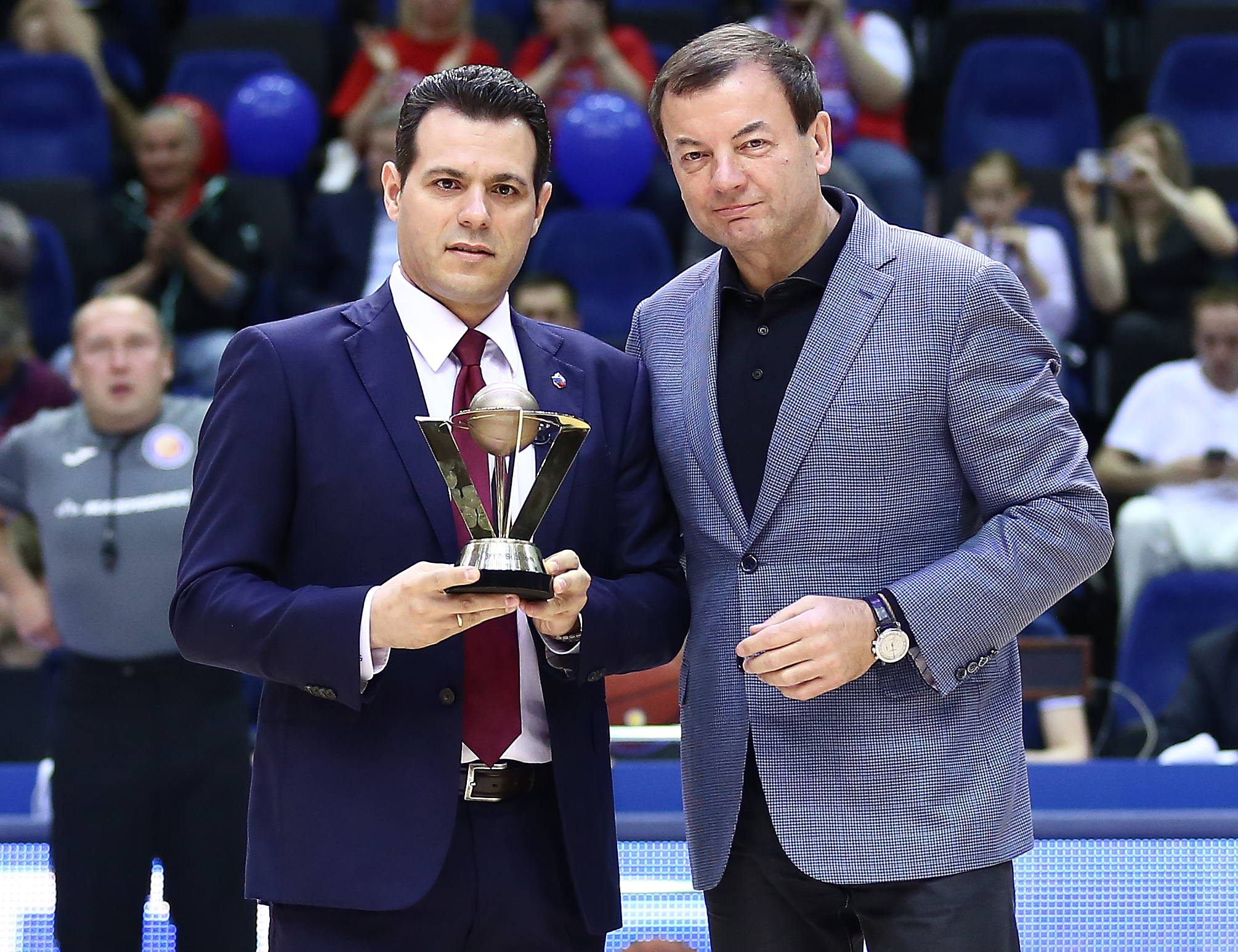 Dimitris Itoudis Named Coach Of The Year