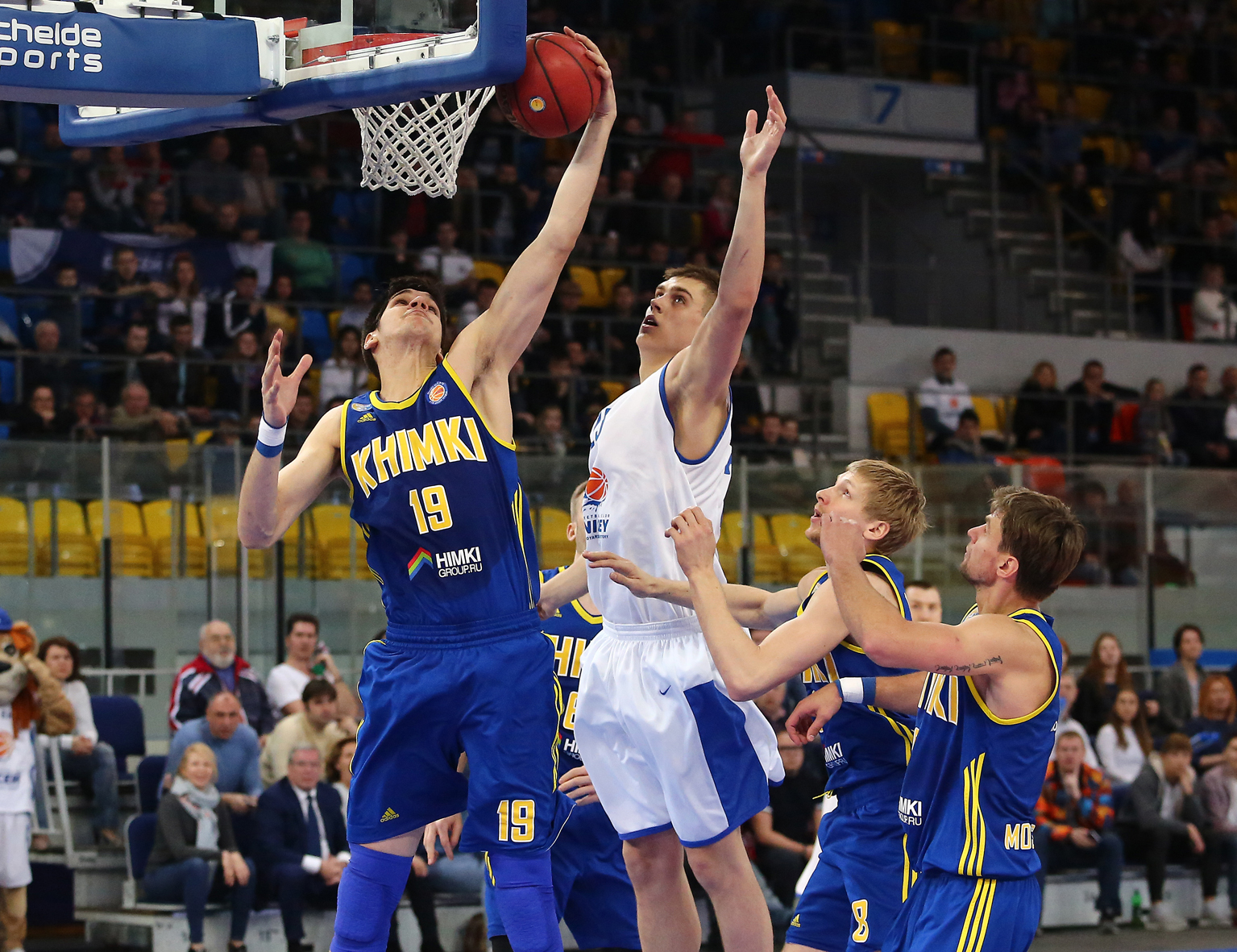 Khimki Sweeps To Semis