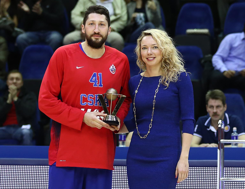 Никита Курбанов – обладатель приза «Лучшему по игре в защите»