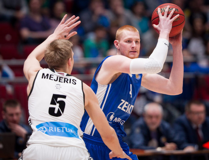 Zenit Snags Game One vs. VEF
