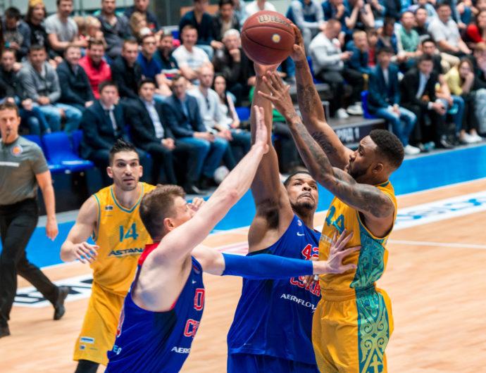 Watch: Astana vs. CSKA Game 3 Highlights