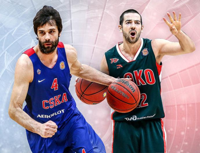 Semifinals: CSKA (1) – Lokomotiv-Kuban (4)