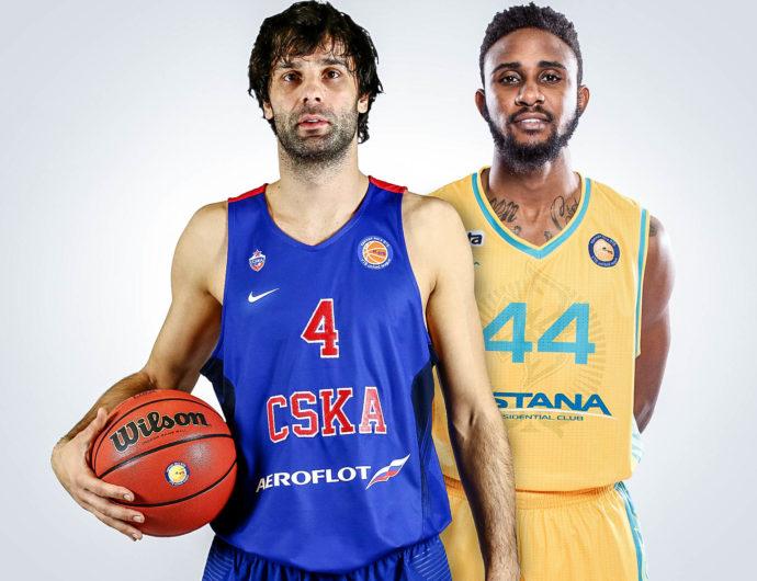 Quarterfinals: CSKA (1) vs. Astana (8)