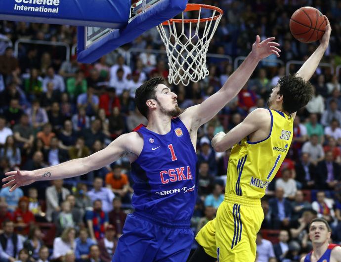 Watch: CSKA vs. Khimki Game 1 Highlights