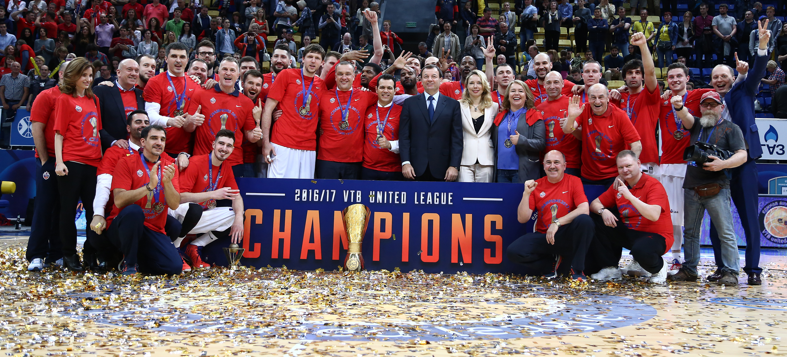 CSKA Sweeps To Title!