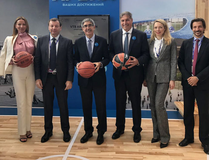 League Executives Participate In St. Petersburg International Economic Forum