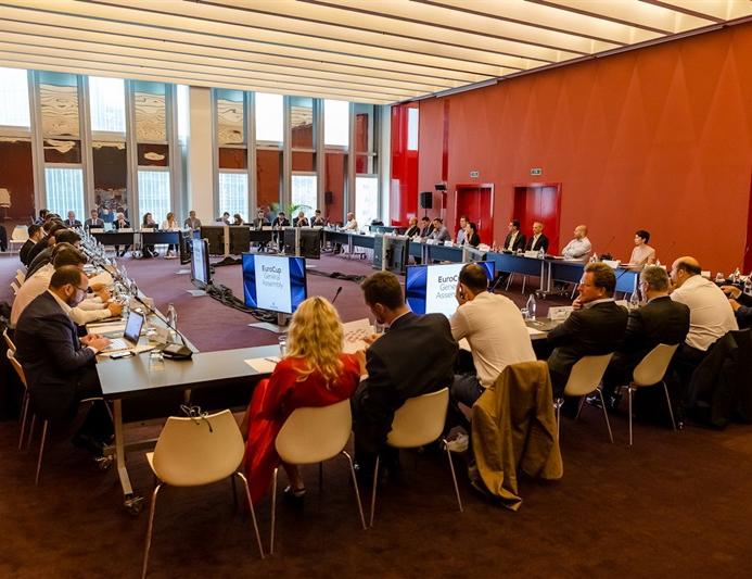 Илона Корстин приняла участие в собрании акционеров Евролиги