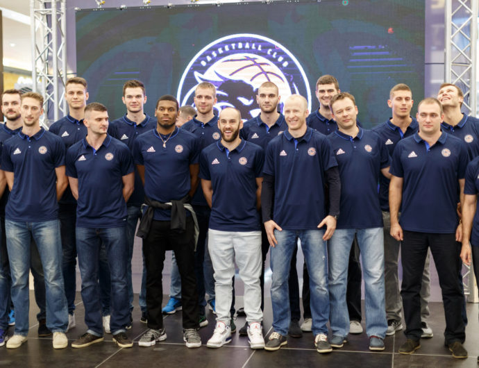 Tsmoki-Minsk Unveils New Logo And Expanded Roster