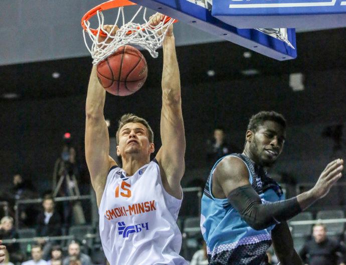 Minsk Quiets Astana, Earns 1st Win