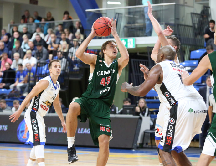 Watch: Kalev vs. Lokomotiv-Kuban Highlights
