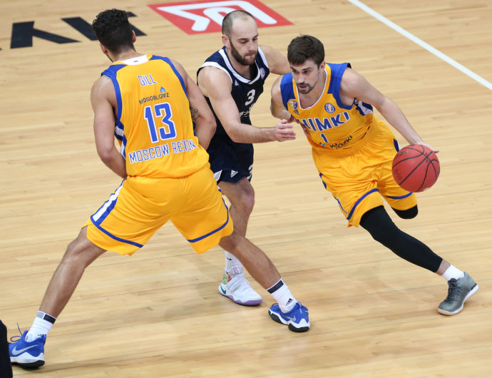 Khimki Too Much For Tsmoki