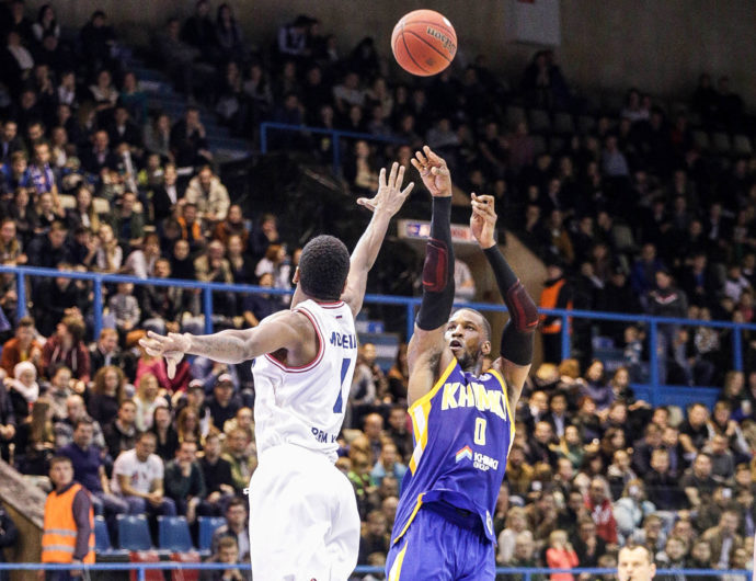 Khimki And Robinson Catch Fire In Perm