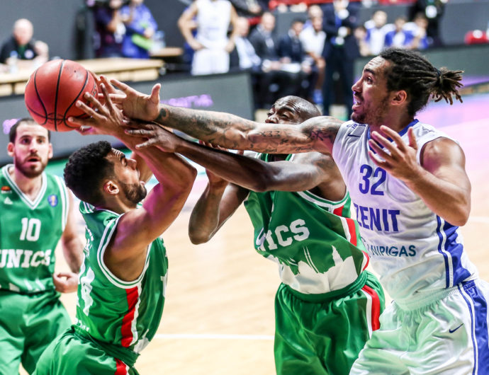Watch: UNICS vs. Zenit Highlights