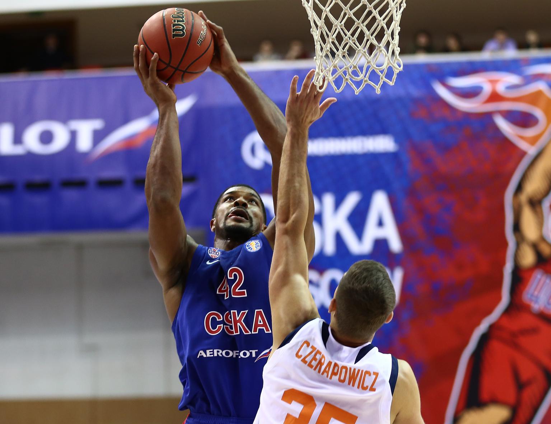 CSKA's Blistering Defense Stops Minsk