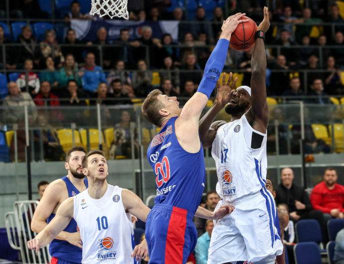 CSKA Takes Care Of Enisey